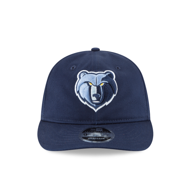 MEMPHIS GRIZZLIES TEAM CHOICE RETRO CROWN 9FIFTY SNAPBACK Front view
