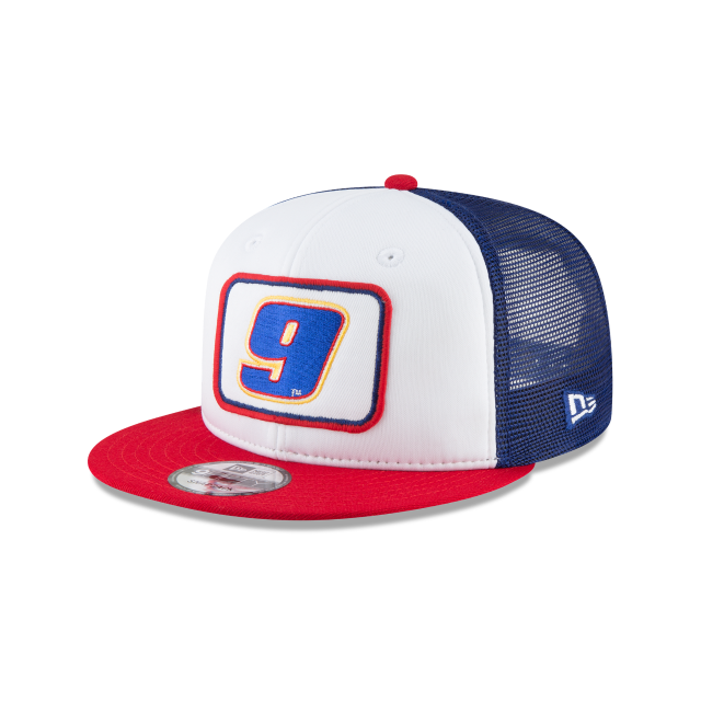 CHASE ELLIOTT TEAM PRIDE TRUCKER 9FIFTY SNAPBACK 3 quarter left view