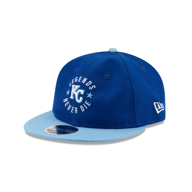 KANSAS CITY ROYALS SANDLOT LND RETRO CROWN 9FIFTY SNAPBACK 3 quarter left view