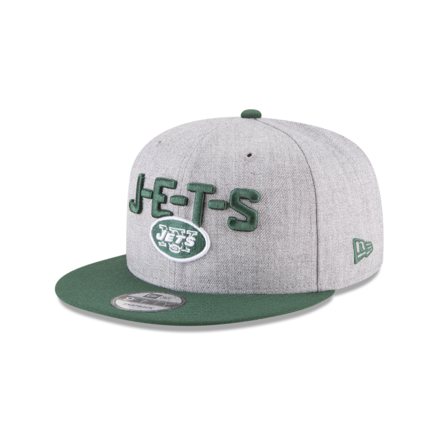 NEW YORK JETS NFL DRAFT 9FIFTY SNAPBACK 3 quarter left view