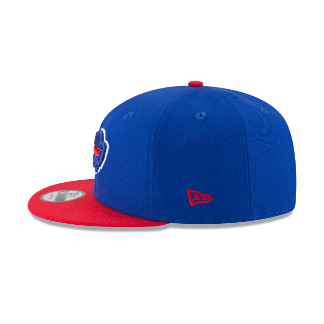 BUFFALO BILLS TEAM PATCHER 9FIFTY SNAPBACK Left side view