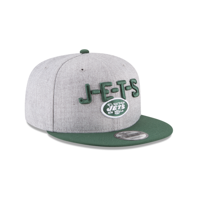 NEW YORK JETS NFL DRAFT 9FIFTY SNAPBACK 3 quarter right view