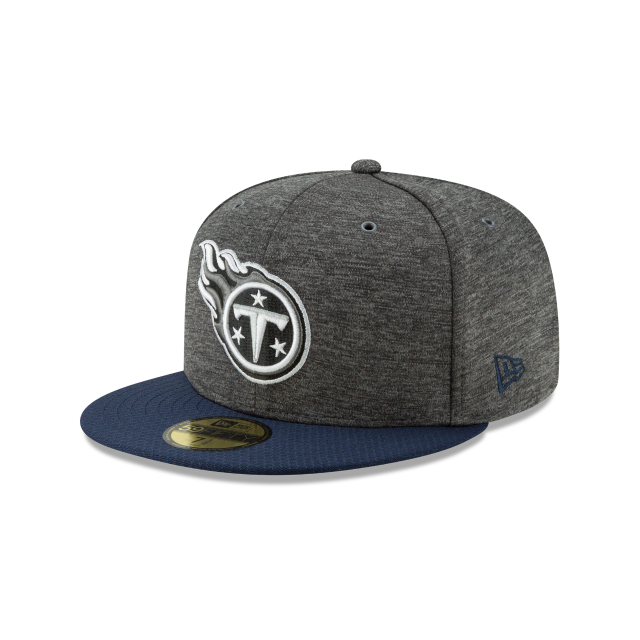 Tennessee Titans Graphite Sideline Home 59fifty Fitted  cda44437051