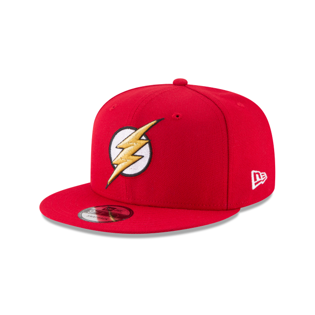 FLASH JUSTICE LEAGUE 9FIFTY SNAPBACK 3 quarter left view