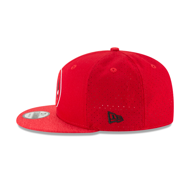 DEADPOOL PERFORATED 9FIFTY SNAPBACK Left side view
