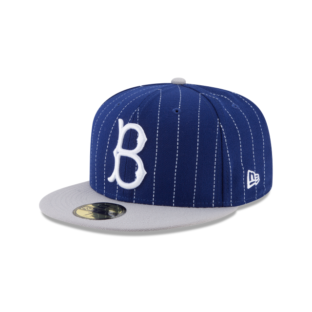 BROOKLYN DODGERS Y2K PINSTRIPE 59FIFTY FITTED 3 quarter left view