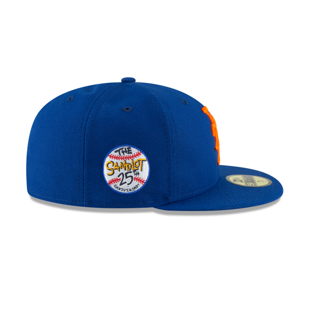 low priced 2e68c cc02c ... authentic new york mets sandlot 25th anniversary 59fifty fitted right  side view fd5f2 9fc00
