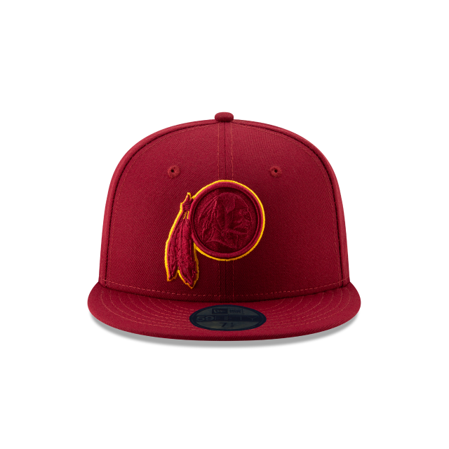 WASHINGTON REDSKINS NFL LOGO ELEMENTS 59FIFTY FITTED Front view