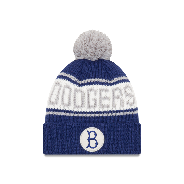 BROOKLYN DODGERS RETRO PATCH KNIT Front view