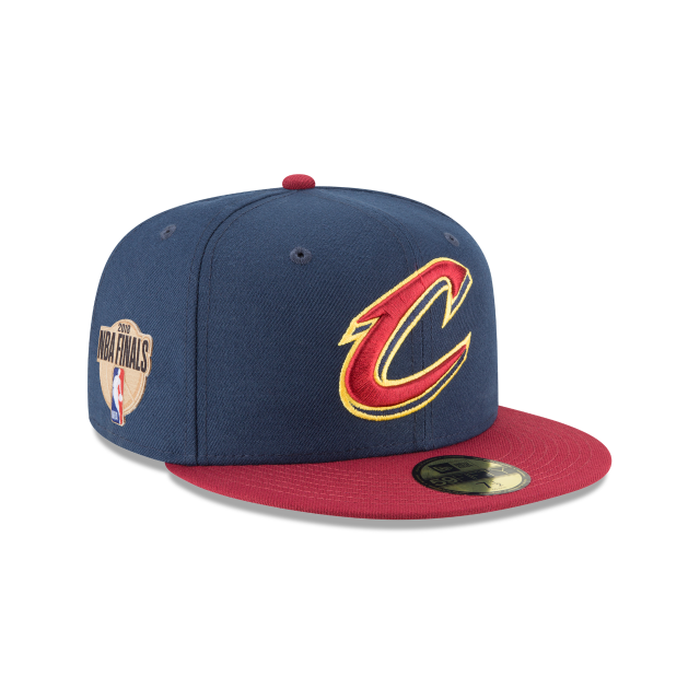 CLEVELAND CAVALIERS NBA FINALS TWO TONE 59FIFTY FITTED 3 quarter right view