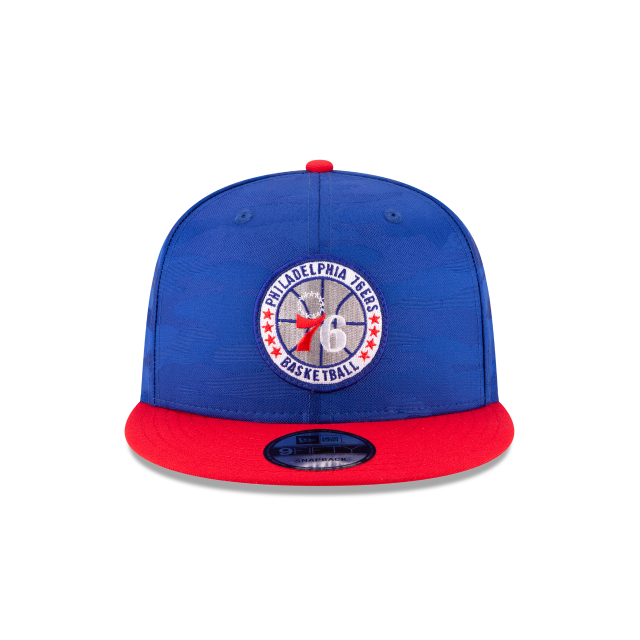 PHILADELPHIA 76ERS 2018 NBA AUTHENTICS: TIP OFF SERIES TWO-TONE 9FIFTY SNAPBACK Front view