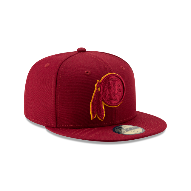 WASHINGTON REDSKINS NFL LOGO ELEMENTS 59FIFTY FITTED 3 quarter right view