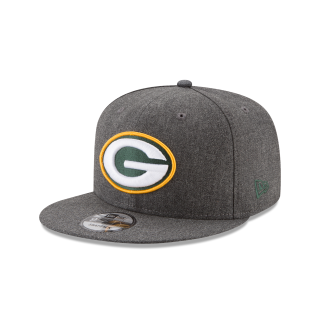 GREEN BAY PACKERS CRAFTED IN THE USA 9FIFTY SNAPBACK 3 quarter left view