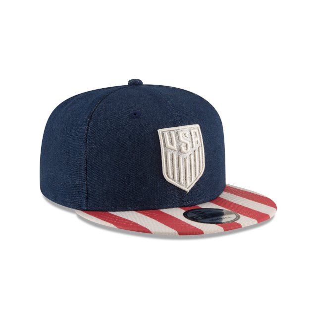 USA SOCCER FULLY FLAGGED 9FIFTY SNAPBACK 3 quarter right view f4423417aa32