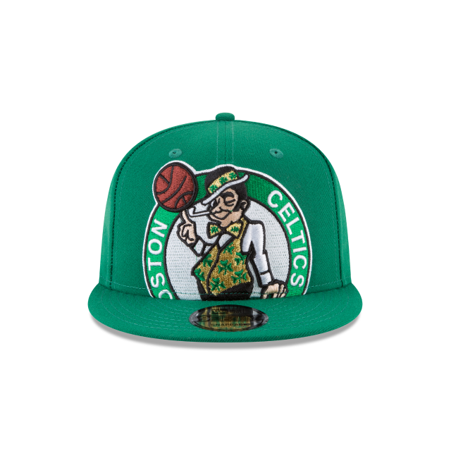 BOSTON CELTICS Y2K BIG UNDER 9FIFTY SNAPBACK Front view