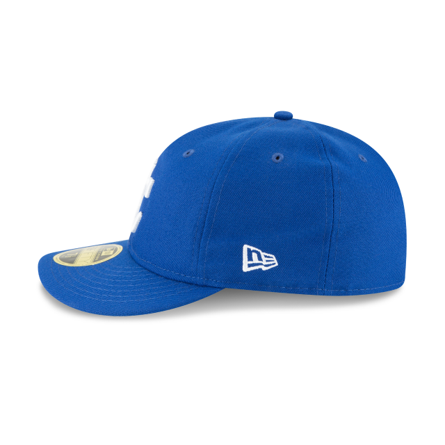 KANSAS CITY ROYALS FAN FIT RETRO CROWN 59FIFTY FITTED Left side view