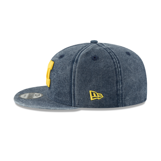 MICHIGAN WOLVERINES RUGGED CANVAS 9FIFTY SNAPBACK Left side view