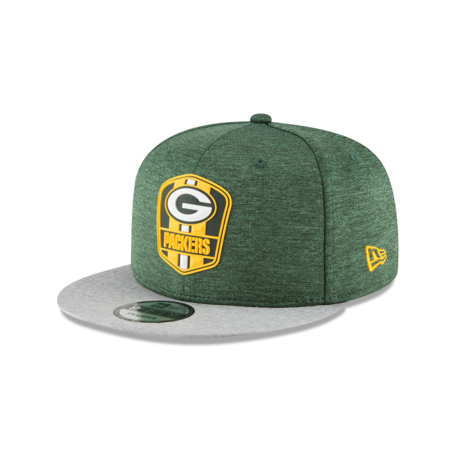 aliexpress green bay packers official sideline road 9fifty snapback 3  quarter left view 3b309 5dda0 452b468be