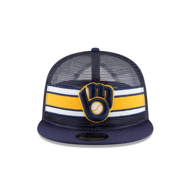 MILWAUKEE BREWERS MESH FRONTED 9FIFTY SNAPBACK Front view