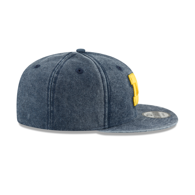 MICHIGAN WOLVERINES RUGGED CANVAS 9FIFTY SNAPBACK Right side view