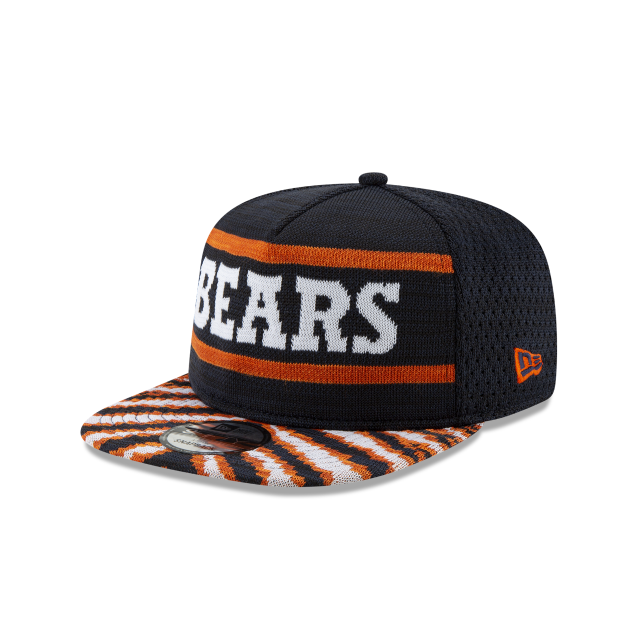 CHICAGO BEARS FRESH FRONT ZUBAZ 9FIFTY SNAPBACK 3 quarter left view