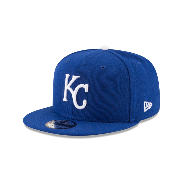 KANSAS CITY ROYALS TEAM COLOR BASIC 9FIFTY SNAPBACK 3 quarter left view
