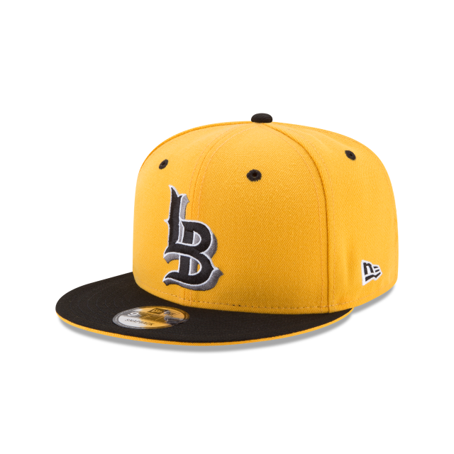 LONG BEACH STATE 49ERS MR. CARTOON HISPANIC HERITAGE 9FIFTY SNAPBACK 3 quarter left view
