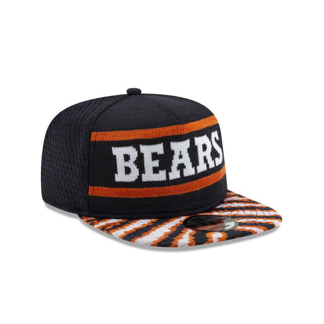 CHICAGO BEARS FRESH FRONT ZUBAZ 9FIFTY SNAPBACK 3 quarter right view