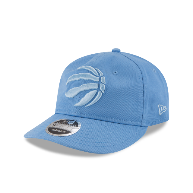 TORONTO RAPTORS TONAL PASTEL RETRO CROWN 9FIFTY SNAPBACK 3 quarter left view
