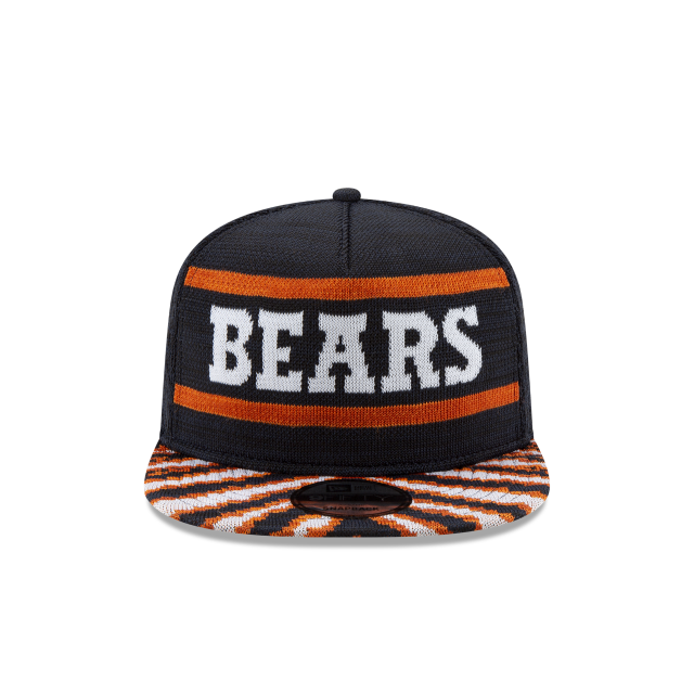 CHICAGO BEARS FRESH FRONT ZUBAZ 9FIFTY SNAPBACK Front view