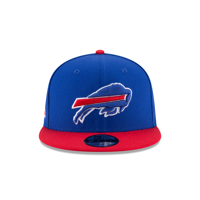 BUFFALO BILLS TEAM PATCHER 9FIFTY SNAPBACK Front view
