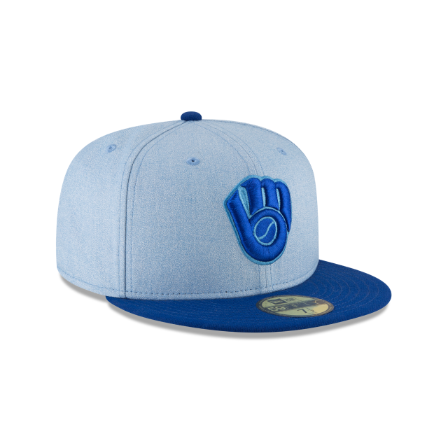 MILWAUKEE BREWERS FATHERS DAY 59FIFTY FITTED 3 quarter right view