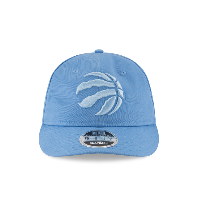 TORONTO RAPTORS TONAL PASTEL RETRO CROWN 9FIFTY SNAPBACK Front view