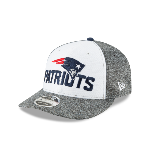 NEW ENGLAND PATRIOTS OPENING NIGHT LOW PROFILE 9FIFTY 3 quarter left view