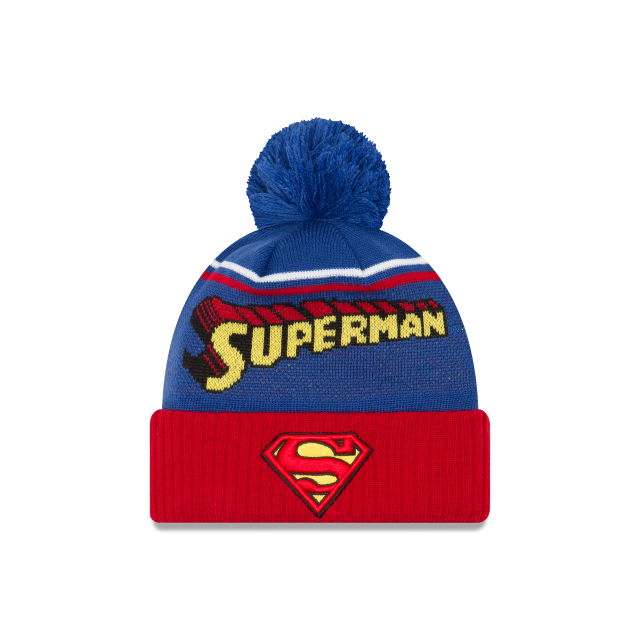 SUPERMAN JUMBO CHEER KNIT Front view