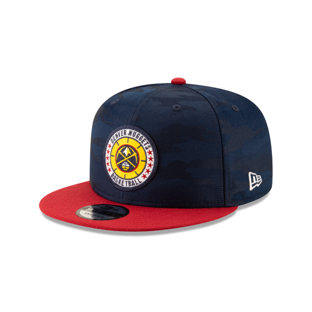 DENVER NUGGETS 2018 NBA AUTHENTICS: TIP OFF SERIES TWO-TONE 9FIFTY SNAPBACK 3 quarter left view