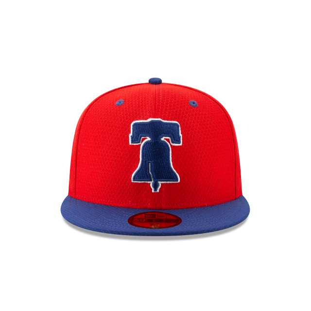 PHILADELPHIA PHILLIES BATTING PRACTICE 59FIFTY FITTED Front view