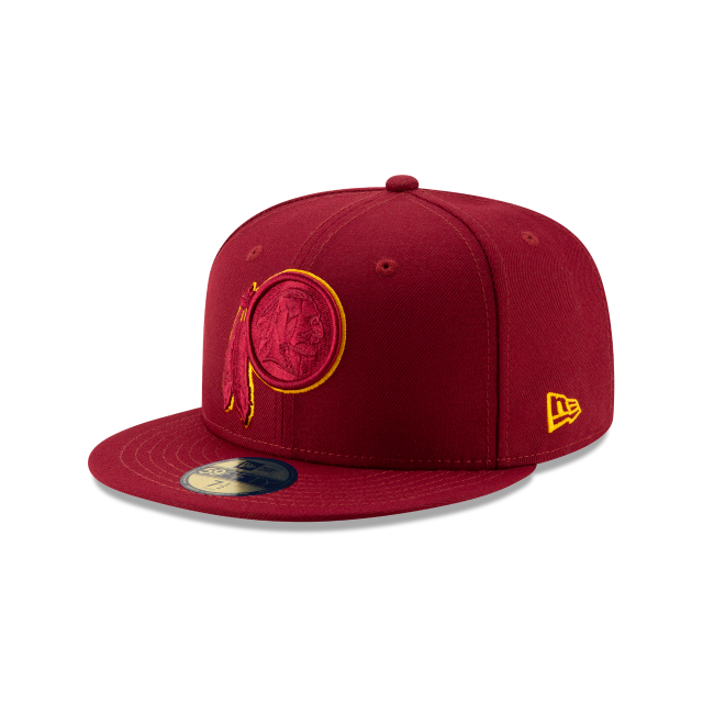 WASHINGTON REDSKINS NFL LOGO ELEMENTS 59FIFTY FITTED 3 quarter left view