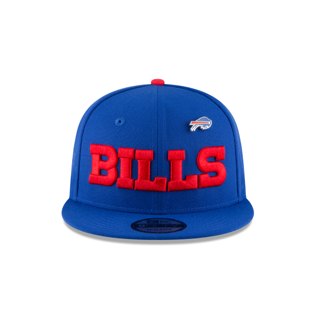 BUFFALO BILLS PINNED SNAP 9FIFTY SNAPBACK Front view