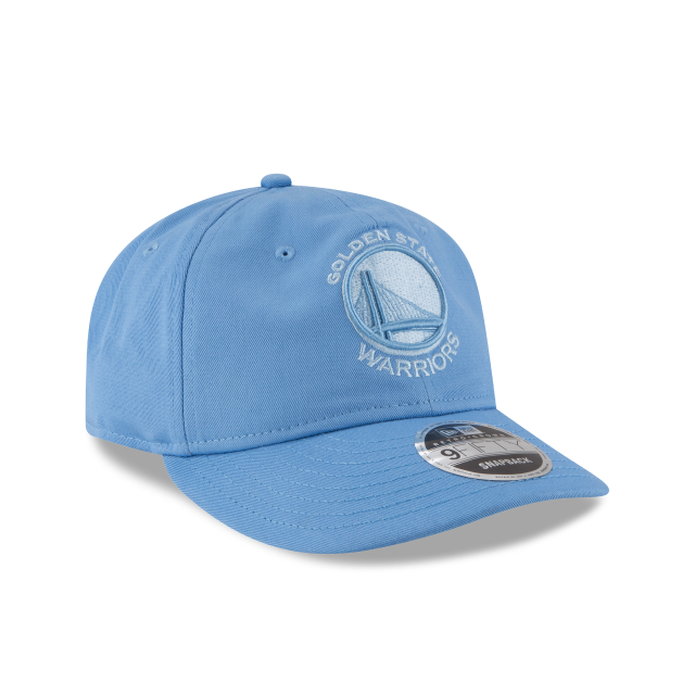 GOLDEN STATE WARRIORS TONAL PASTEL RETRO CROWN 9FIFTY SNAPBACK 3 quarter right view