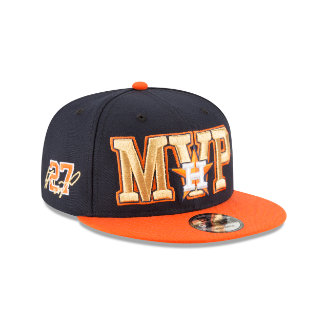 JOSE ALTUVE 2017 AMERICAN LEAGUE MVP 9FIFTY SNAPBACK 3 quarter right view