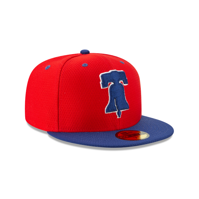 PHILADELPHIA PHILLIES BATTING PRACTICE 59FIFTY FITTED 3 quarter right view