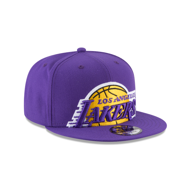LOS ANGELES LAKERS Y2K BIG UNDER 9FIFTY SNAPBACK 3 quarter right view