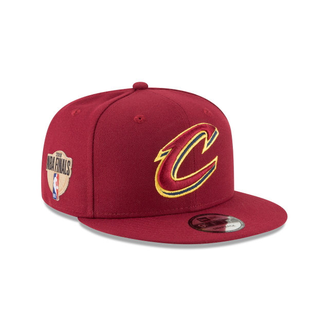CLEVELAND CAVALIERS NBA FINALS OTC 9FIFTY SNAPBACK 3 quarter right view