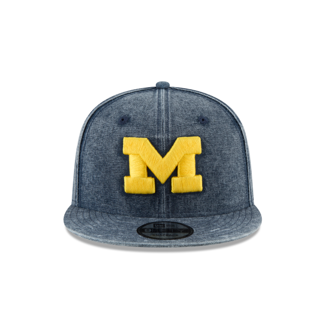 MICHIGAN WOLVERINES RUGGED CANVAS 9FIFTY SNAPBACK Front view