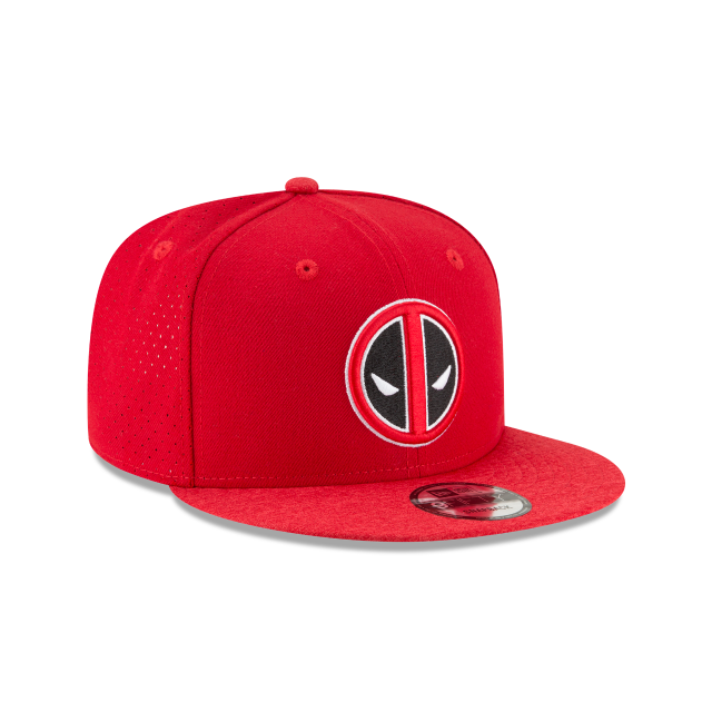 DEADPOOL PERFORATED 9FIFTY SNAPBACK 3 quarter right view