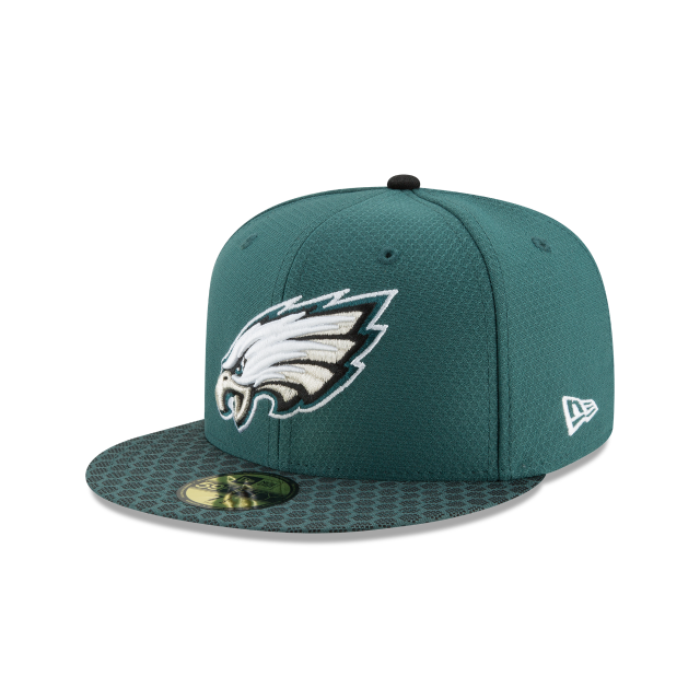 PHILADELPHIA EAGLES SUPER BOWL LII SIDE PATCH 59FIFTY 3 quarter left view