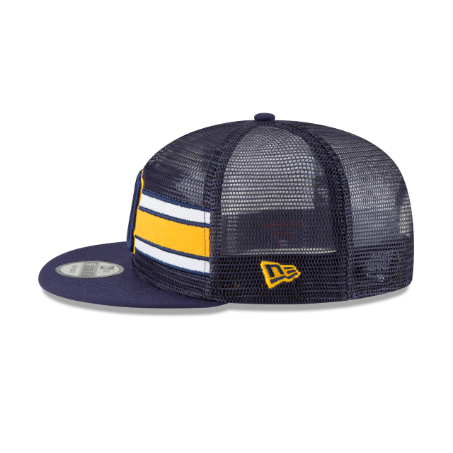 MILWAUKEE BREWERS MESH FRONTED 9FIFTY SNAPBACK Left side view