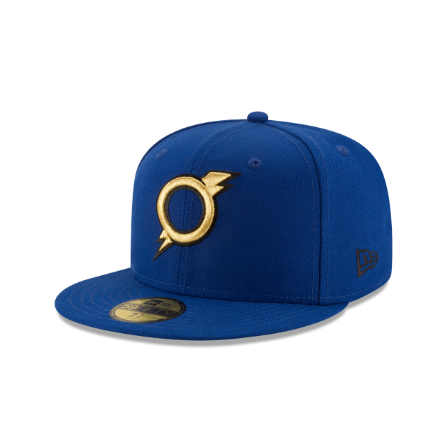 OMAHA STORM CHASERS AUTHENTIC COLLECTION 59FIFTY FITTED 3 quarter left view