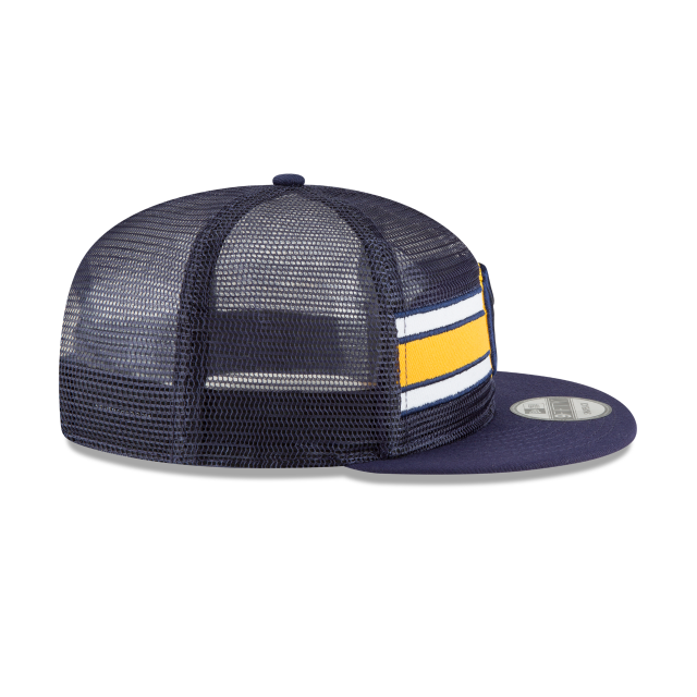 MILWAUKEE BREWERS MESH FRONTED 9FIFTY SNAPBACK Right side view